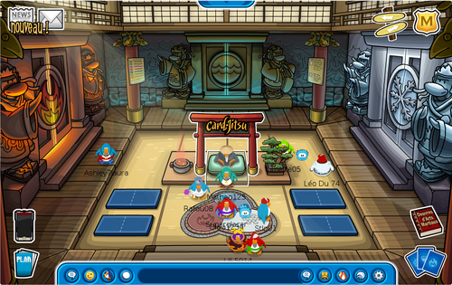 club penguin actus astuces superglacer