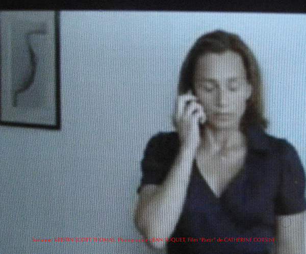 Kristin Scott Thomas, Photo Jean Suquet, capture film Catherine Corsini