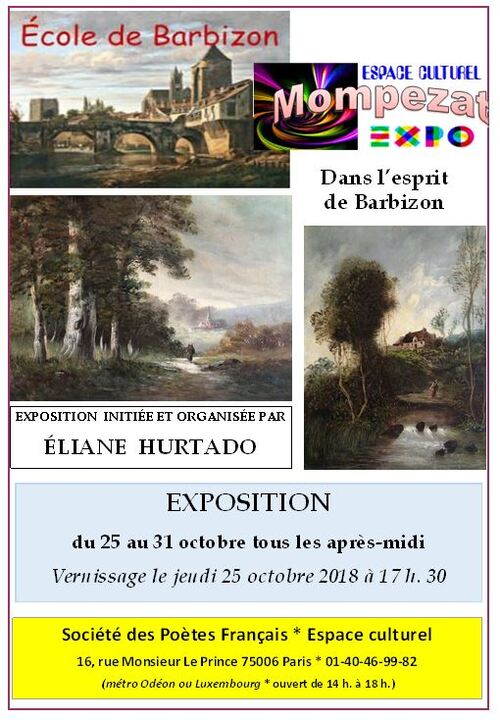 Exposition Ecole de Barbizon