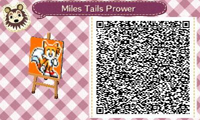 Animal crossing new leaf: Tails pattern by AdverseTheGamer