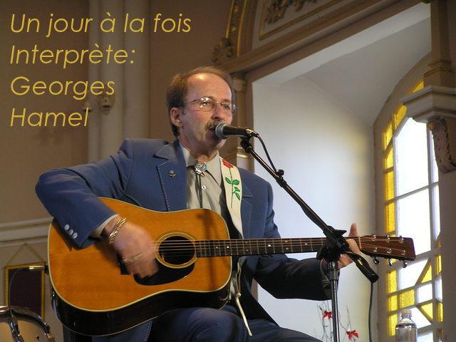 Un jour à la fois **Georges Hamel**