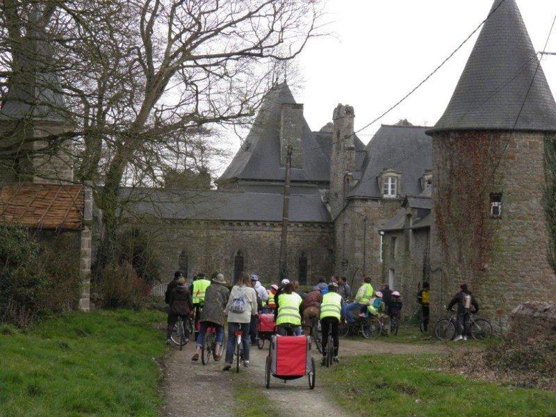 Arrivée au Château de Thaumatz