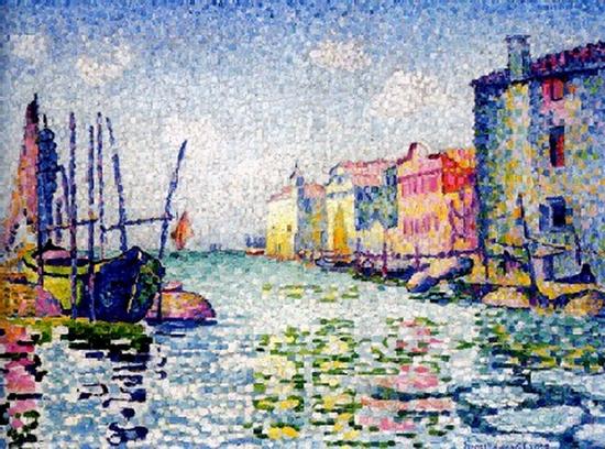 Henri-Edmond Cross, Canale Ponte Lungo