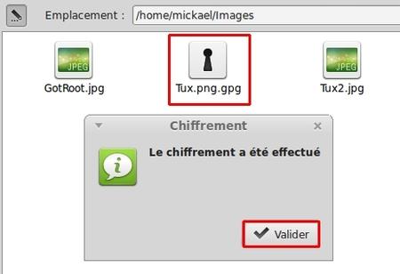 Chiffrer un fichier avec GnuPG
