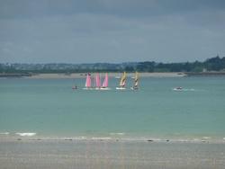 11/06/2012 - CE2-CM1 - Classe de voile à Lancieux - 2ème jour