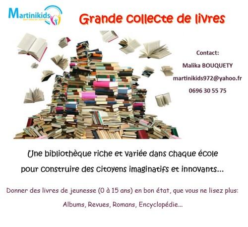 Grande collecte de livres