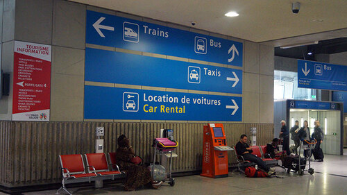 How to get from Charles de Gaulle (CDG) Airport by Train