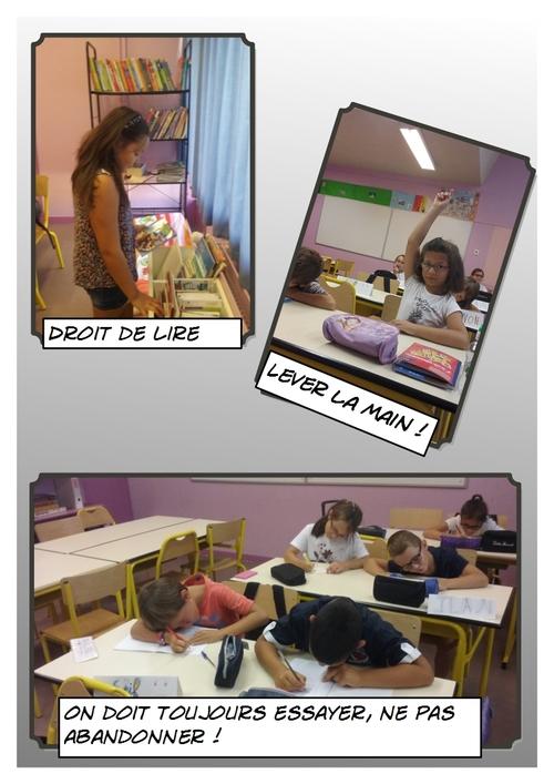 Les règles de la classe