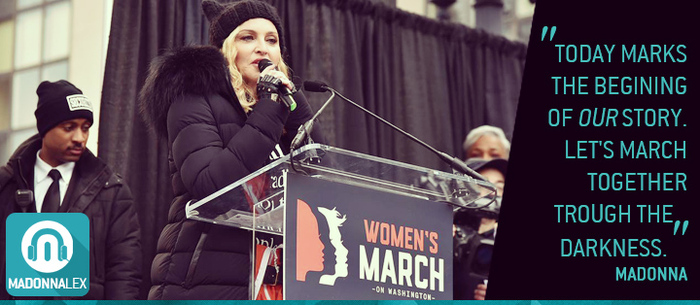 Madonna : son discours a la Women's March Anti-Trump de Washington