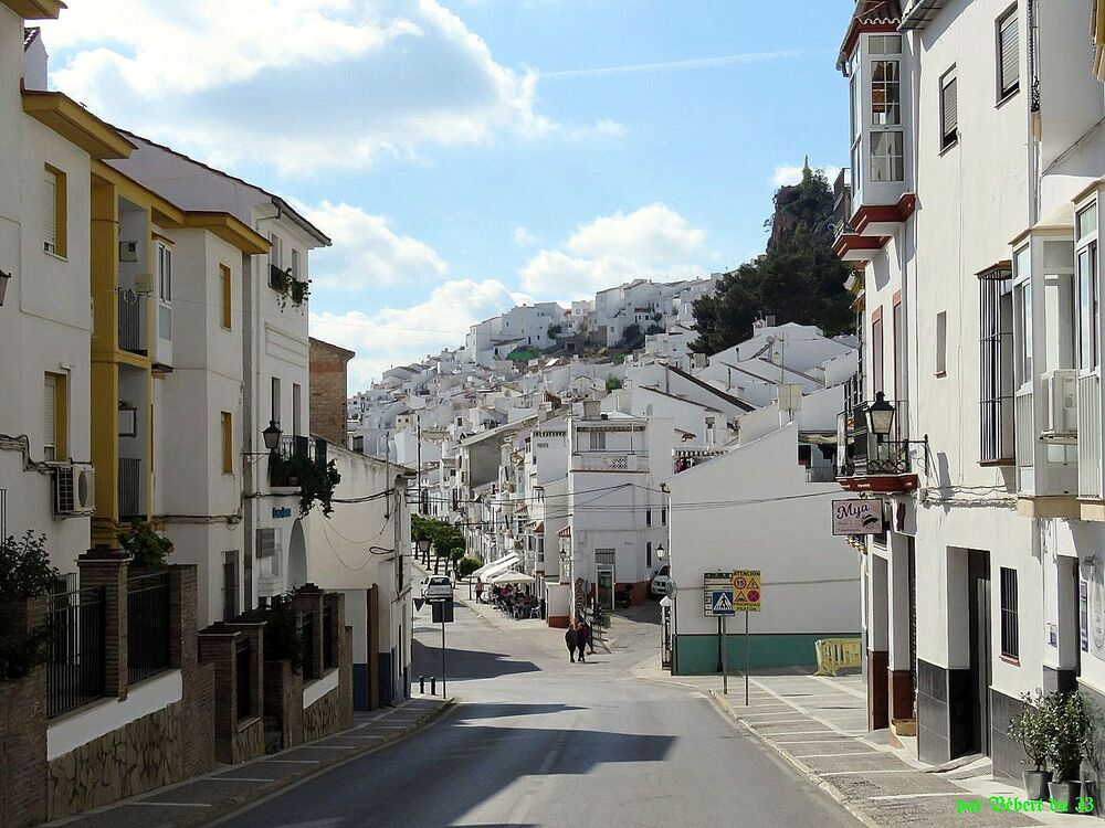 Olvera en Andalousie