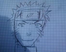 dessin que j'ai fait hier ^^