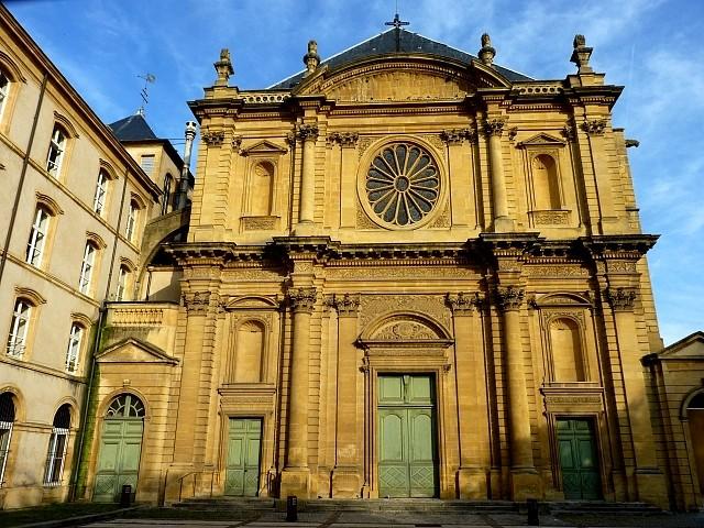 Metz l'église Saint-Clément 1 Marc de Metz 01 11 2012