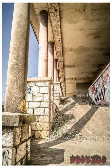 exploration urbaine université abandonnée