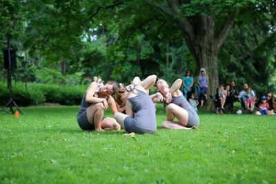 dance ballet dancers meadow dance staff