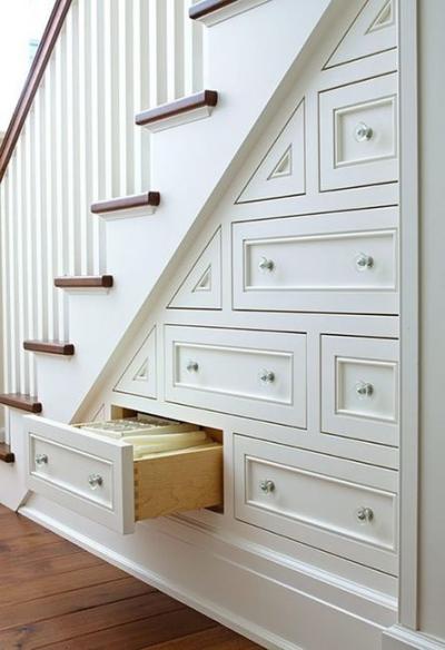 Dans les escaliers - Aménagement 6
