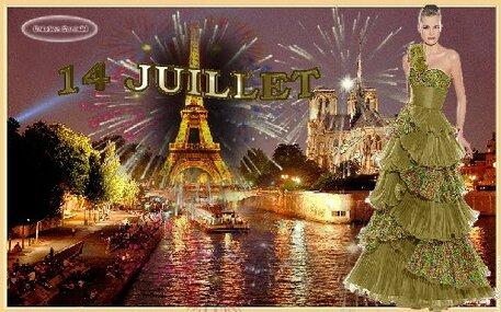 """14 Juillet """"Fête Nationale"""""""