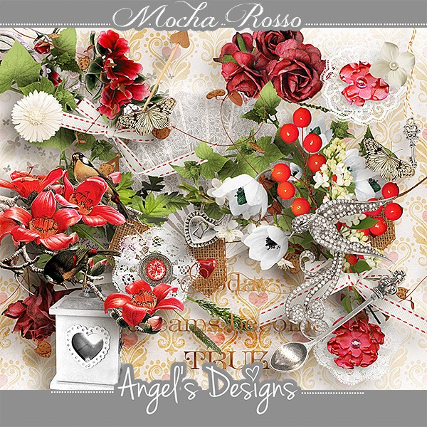 Mocha Rosso by Angel's Designs