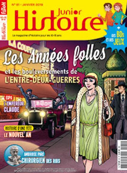 Histoire Junior n° 81 - Janv. 19