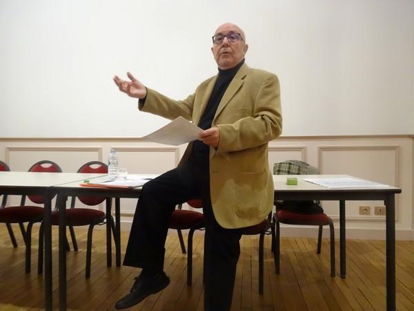 Michel Lagrange a proposé un itinéraire poétique tout au long de la Seine, sous les auspices de Châtillon-Scènes
