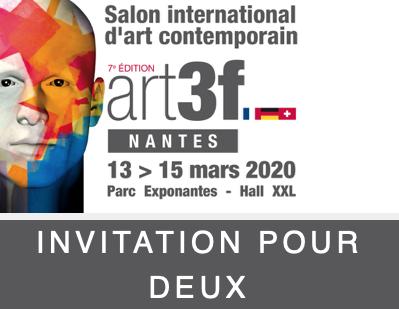 Invitation gratuite au Salon d'Art Contemporain 2020