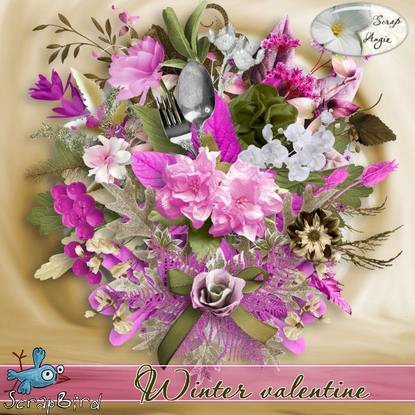 """Winter Valentine"" de Scrap'Angie"