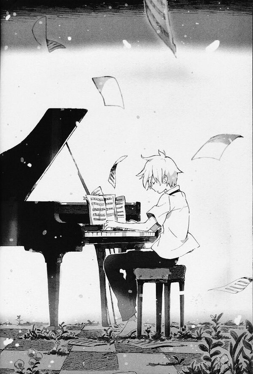 Image de piano, anime, and manga