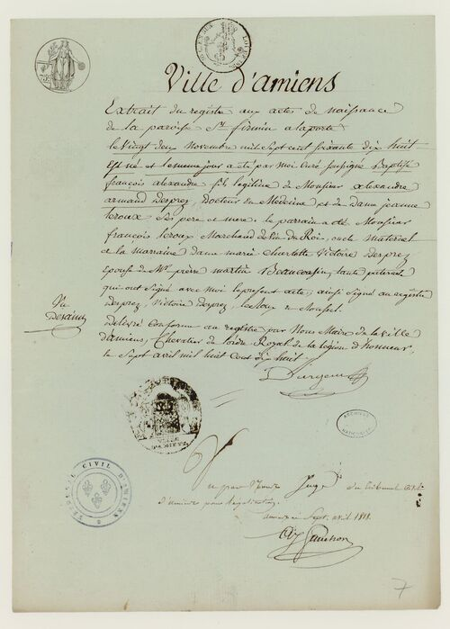 Général  DESPREZ  François-Alexandre