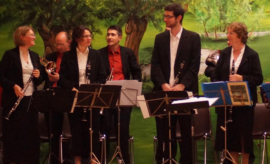 Cinq ensembles pour un festival d'harmonies