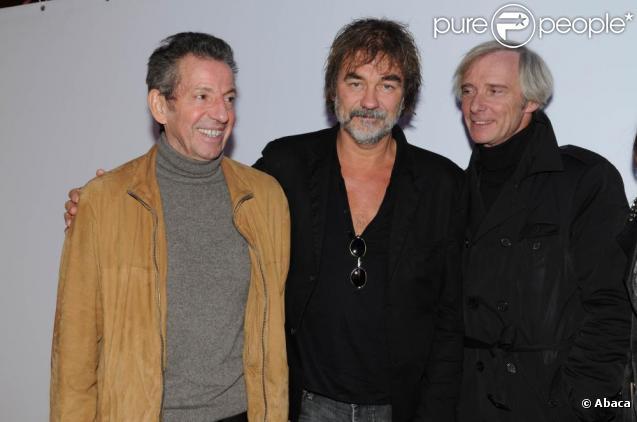 Olivier Marchal et Michel Creton au Festival Scenaristes en Séries. 16/10/09