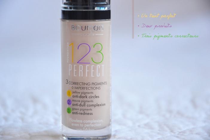 Un teint parfait avec 123 Perfect de Bourjois