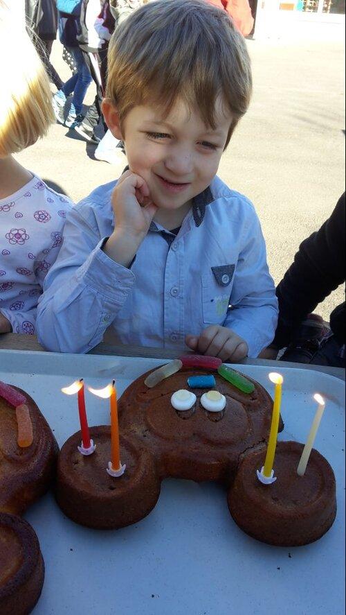 Clément a fêté ses 4 ans...Joyeux Anniversaire!