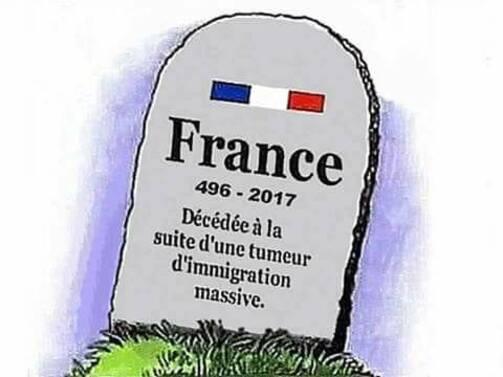 La France, la patrie dont je ne saurais déraciner mon cœur.