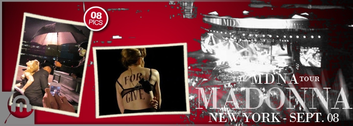 The MDNA Tour - NY SEPT 08 - Pictures