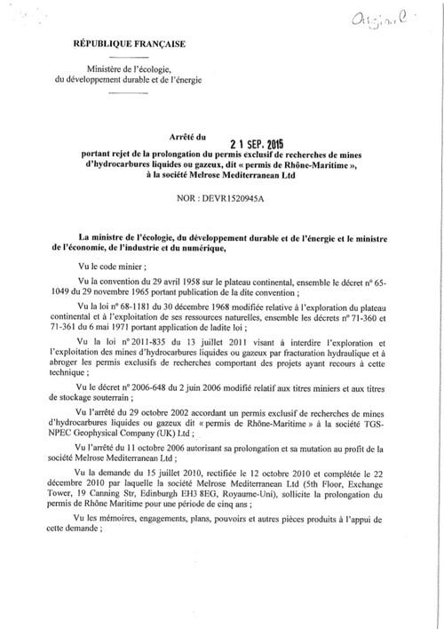 Le « Permis Rhône-Maritime » résiste toujours