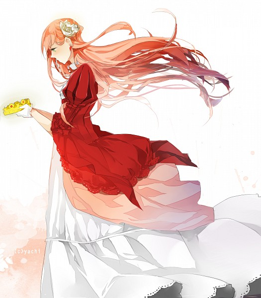 Tags: Anime, Yachi-chan, Fan Character, Queen, Red Dress
