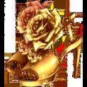 escarpins rose d'or