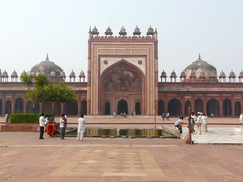 la mosquée Jama de Fatehpur Sikri