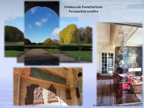 Vide grenier au château de Pontchartrain