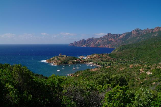 Golfe de Girolata en Corse
