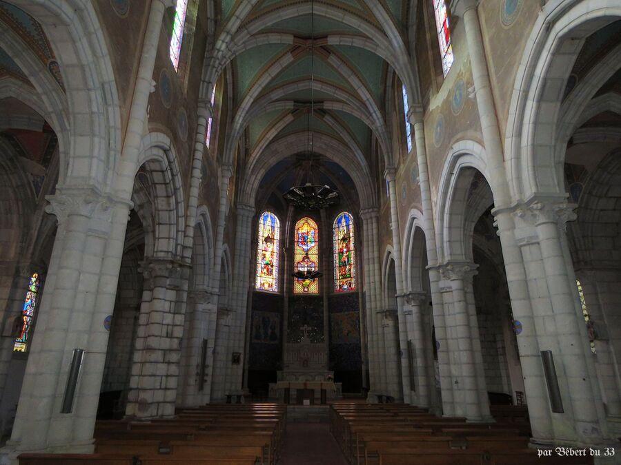 l'église des Eaux Bonnes et ...