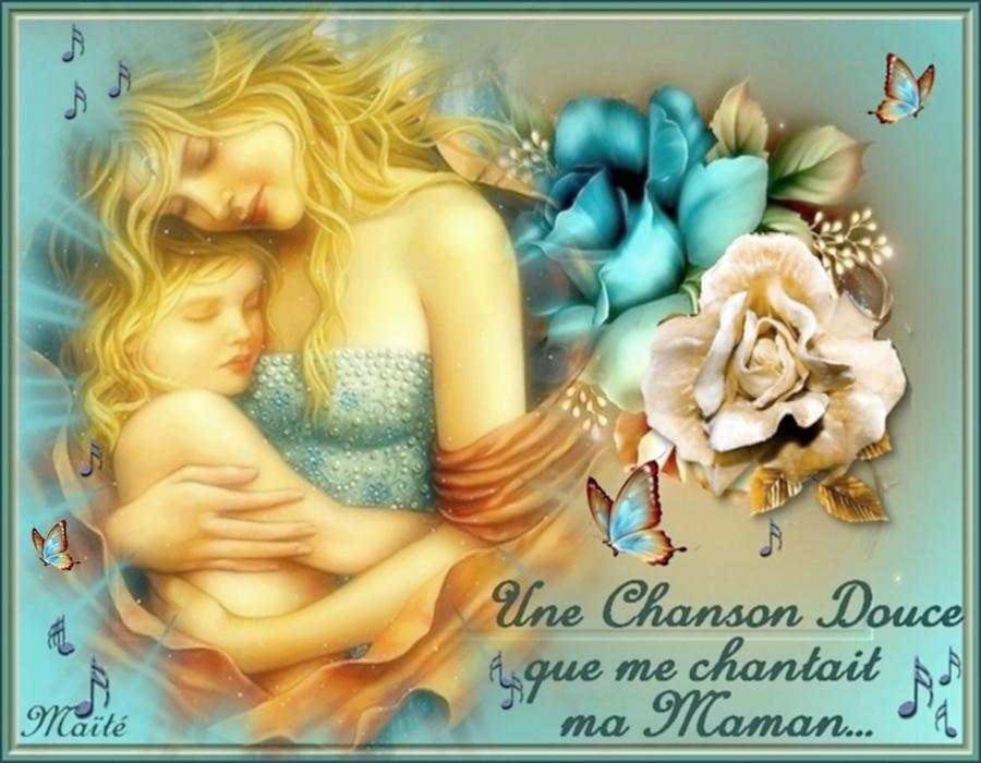 Douce Fête des Mamans à Toutes....