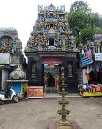 Visite d'un temple Hindou à Alleppey