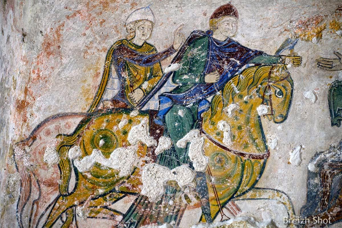 sainte-radegonde abrite des peintures murales du xiie si u00e8cle