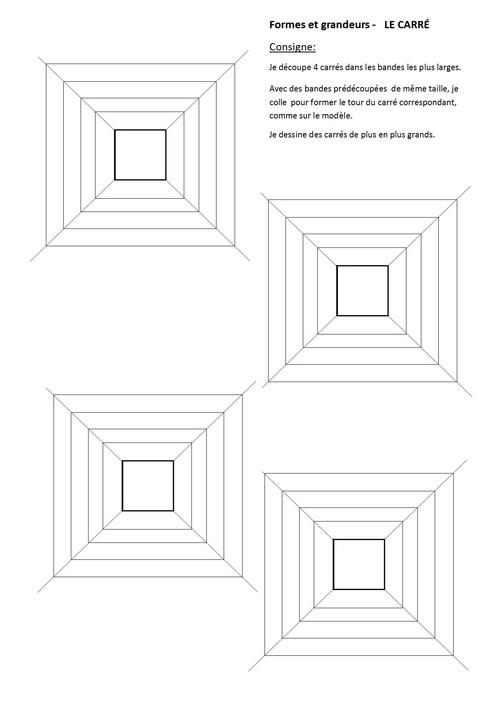 dessiner des carrés