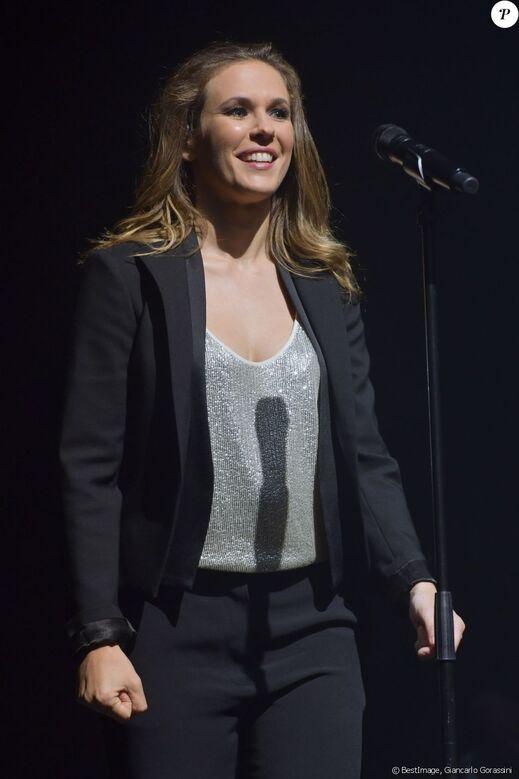 Semi-exclusif - Lorie Pester en concert à l'Olympia à Paris le 31 mai 2018. © Giancarlo Gorassini/Bestimage