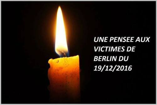 Hommage aux victimes de Berlin