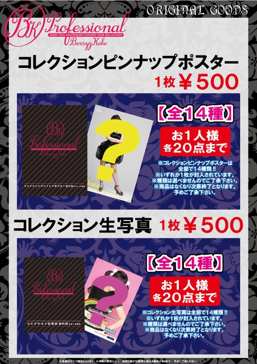 "Goodies ""Berryz Kobo Debut 10th Anniversary Concert Tour 2014 Fall ~Professional~"""