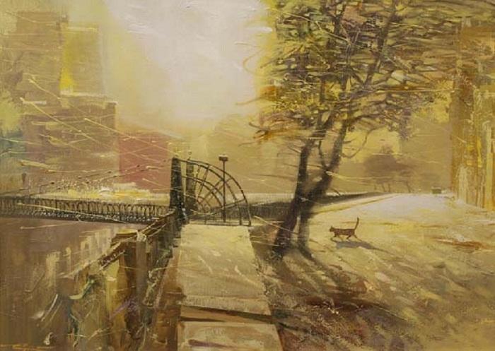 Pont Pochtamtsky.  Auteur: Sergey Sidelev.