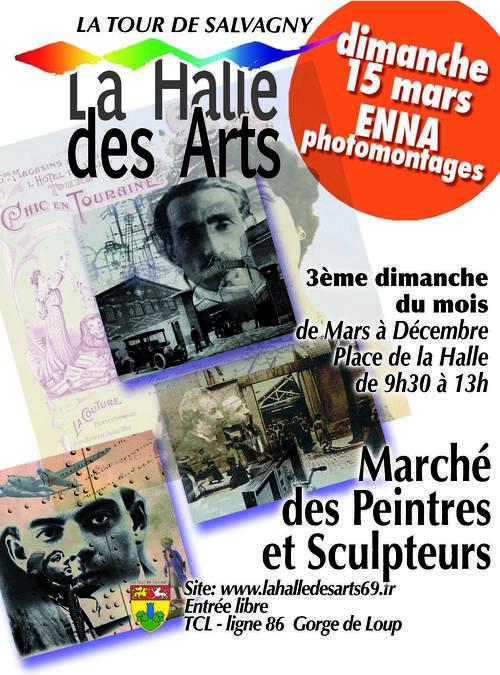 La halle des Arts mars 2015
