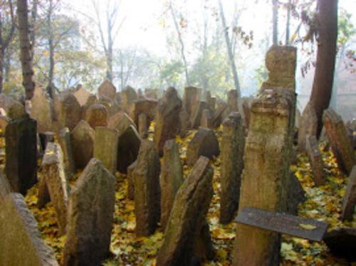 Le vieux cimetière juif de Prague